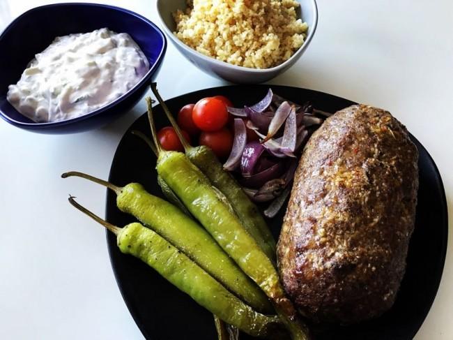 Kebabköttfärslimpa