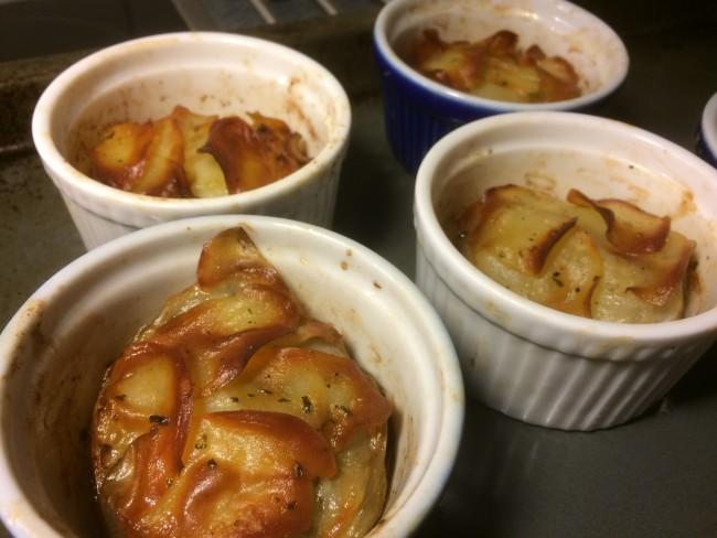 Potatiskaka i portionsform