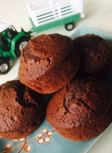 Himmelska chokladmuffins