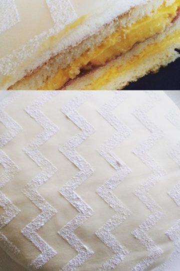 Prinsesstårta med mangomousse