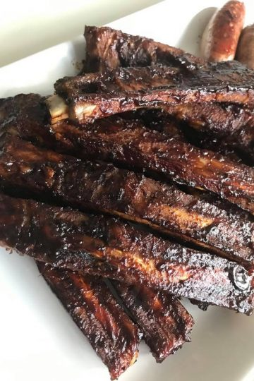 Sticky Ribs med bourbon