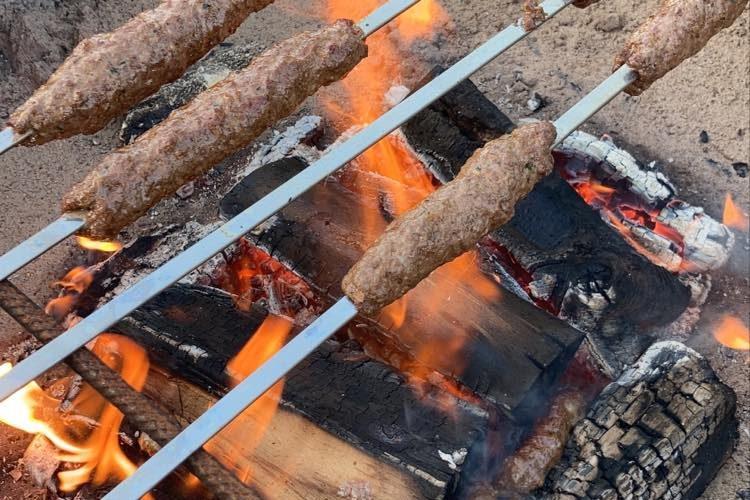 Kebab på spett